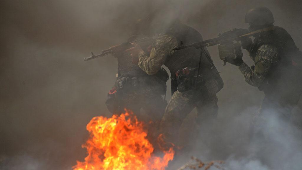 Ukraine crisis: pro-Russian militants 'killed' in Slaviansk (Getty)