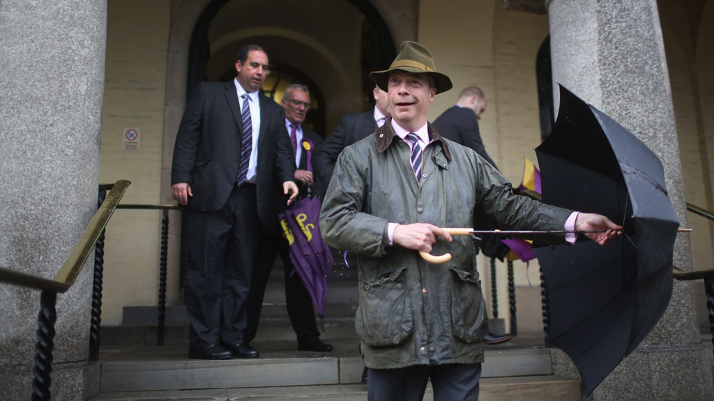 Ukip leads EU election poll despite racism row