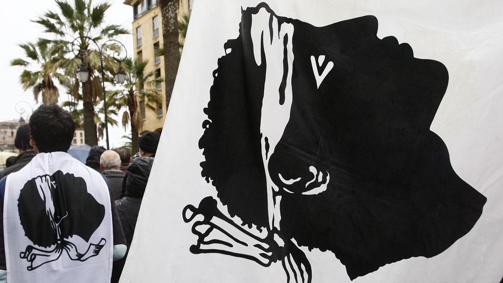 Corsican flag (Reuters)