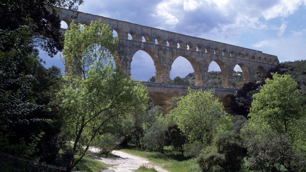 Aqueduct in Languedoc, southern France (Getty)