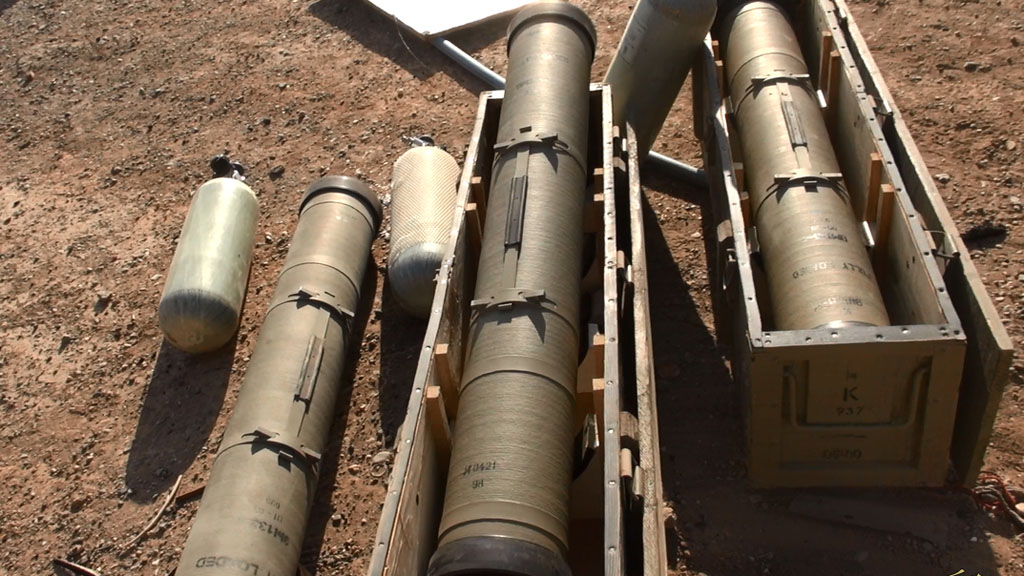 Thermal missiles at Tabqa