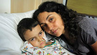 Ashya King with his mother
