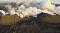 Iceland's meteorological office raises its aviation alert level to maximum after a small eruption in the Bardarbunga volcano system.