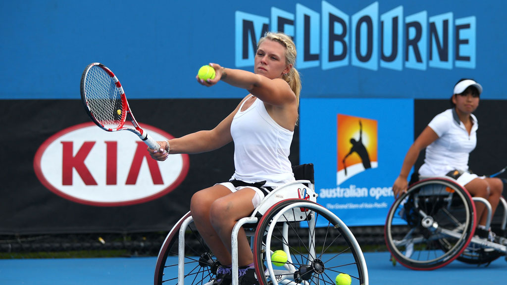 Wheelchair tennis: Britain's little-known champion Jordanne Whiley