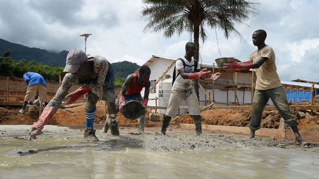 UK constructing treatment centre in Sierra Leone