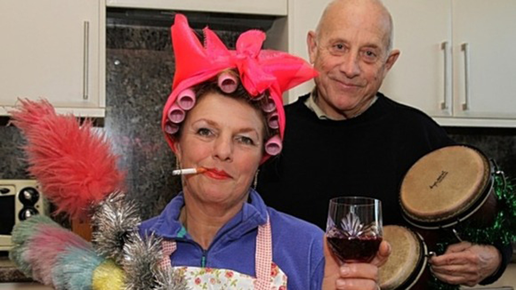 Godfrey bloom and wife