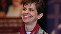 Libby Lane, appointed bishop of Stockport (Reuters)