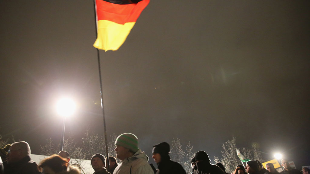 germany dresden march anti islamisation sharia law pegida