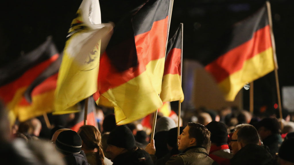 germany dresden march anti islamisation sharia law pegida