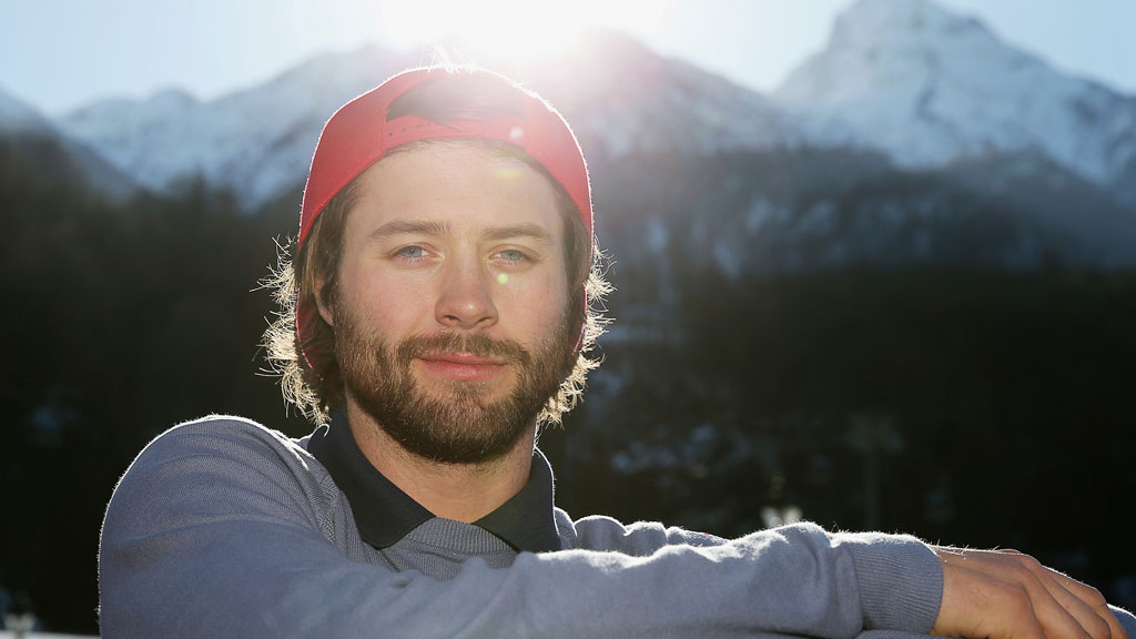 Britain's Billy Morgan is a hot contender for the snowboarding Slopestyle at Sochi