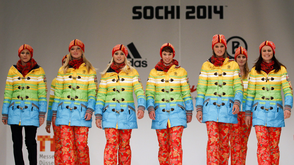 Rainbow Deutschland - German Olympic kit.
