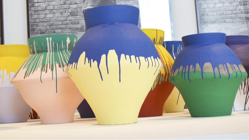 Weiwei China vase Caminero Perez Art Museum Miami