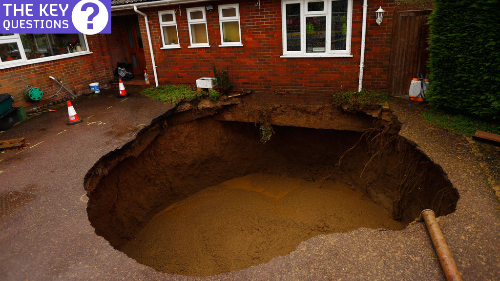 What are sinkholes (Getty)