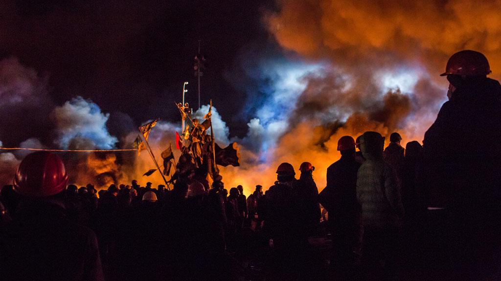 The battle for Kiev (Getty)