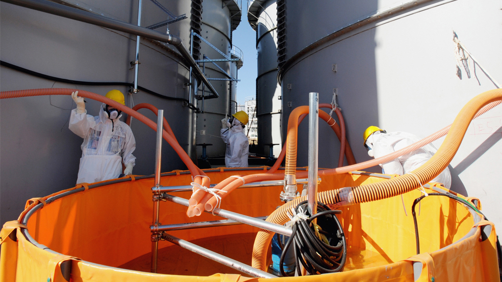 Radioactive water leaks from Fukushima nuclear plant