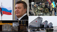 Ukraine crisis (pictures: Reuters and Getty)