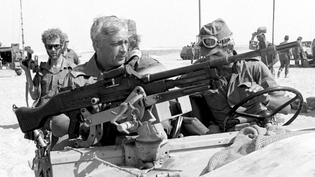 Ariel Sharon in 1973 (Reuters)