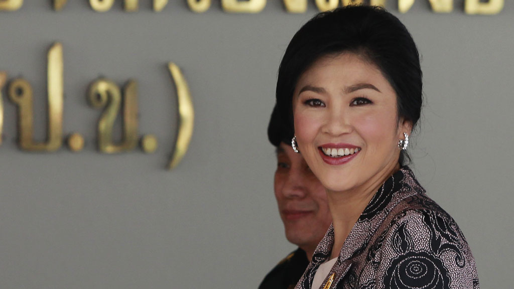 Thai prime minister Yingluck Shinawatra (picture: Reuters)
