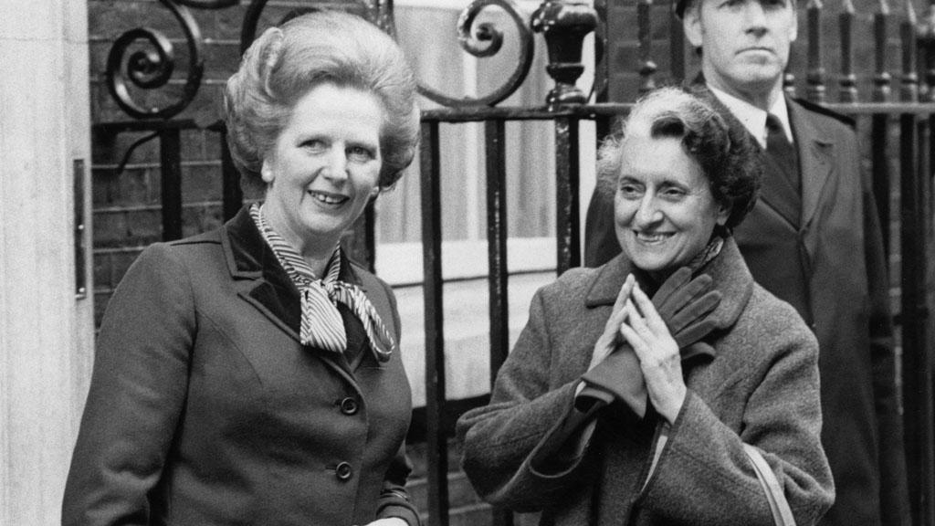 Margaret Thatcher and Indira Gandhi (Getty)