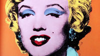 Andy Warhol's classic depiction of Marilyn Monroe.