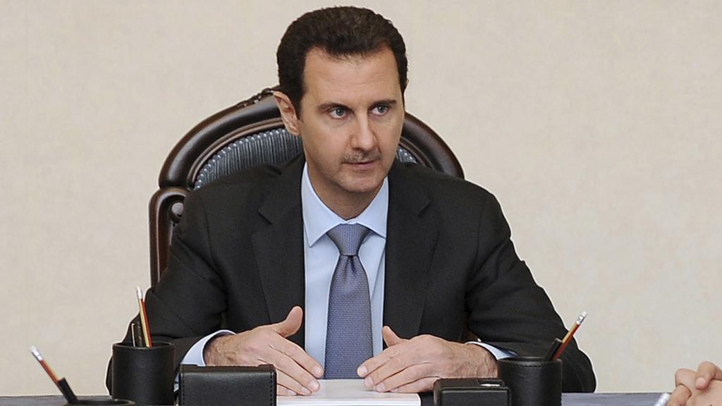 President Assad (R)