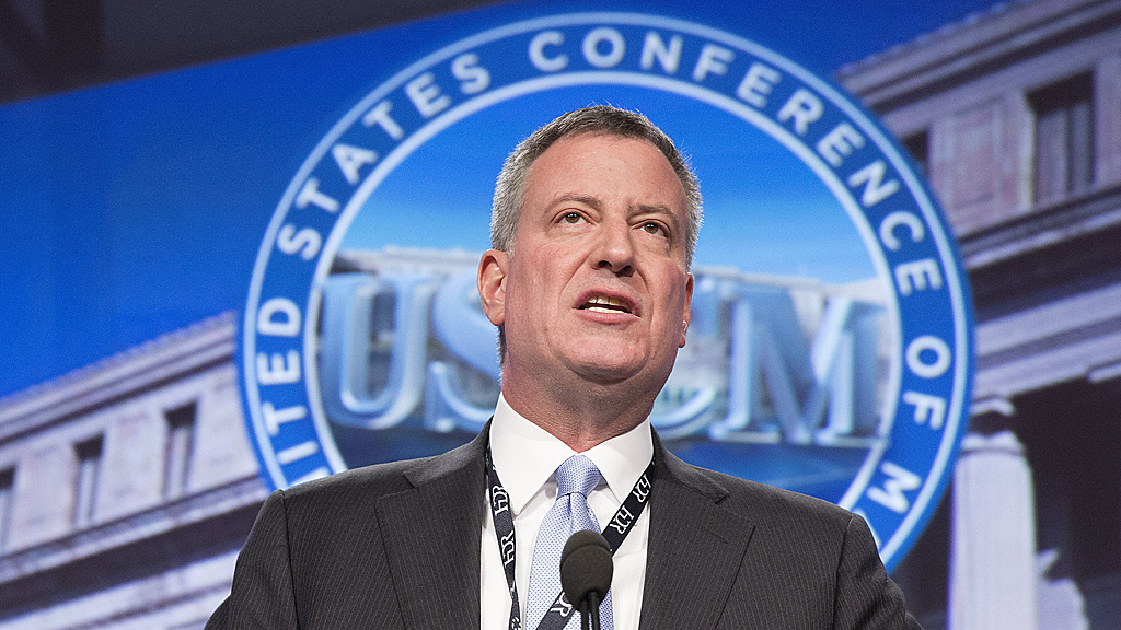 Bill de Blasio New York mayor inequality