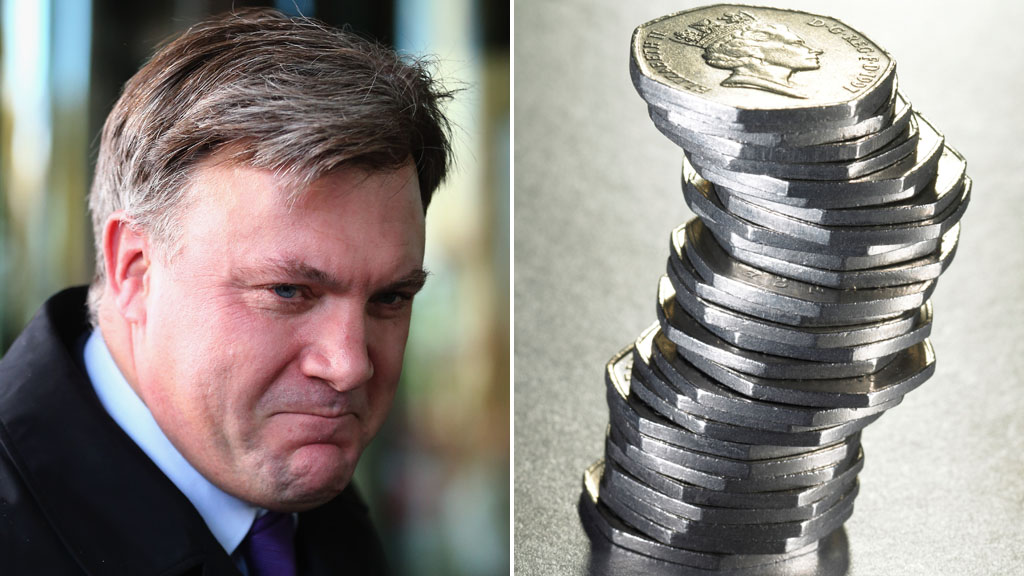 Ed Balls pledges 50p top rate of tax reinstated