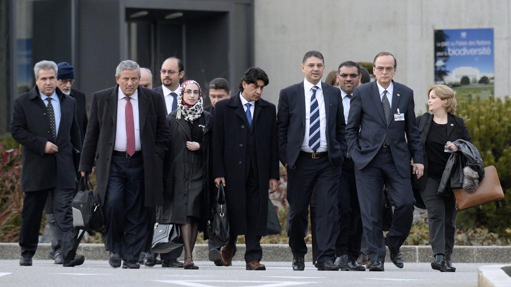 Syria Geneva II talks Bashar al-Assad power UN Al-Qaeda (Getty)