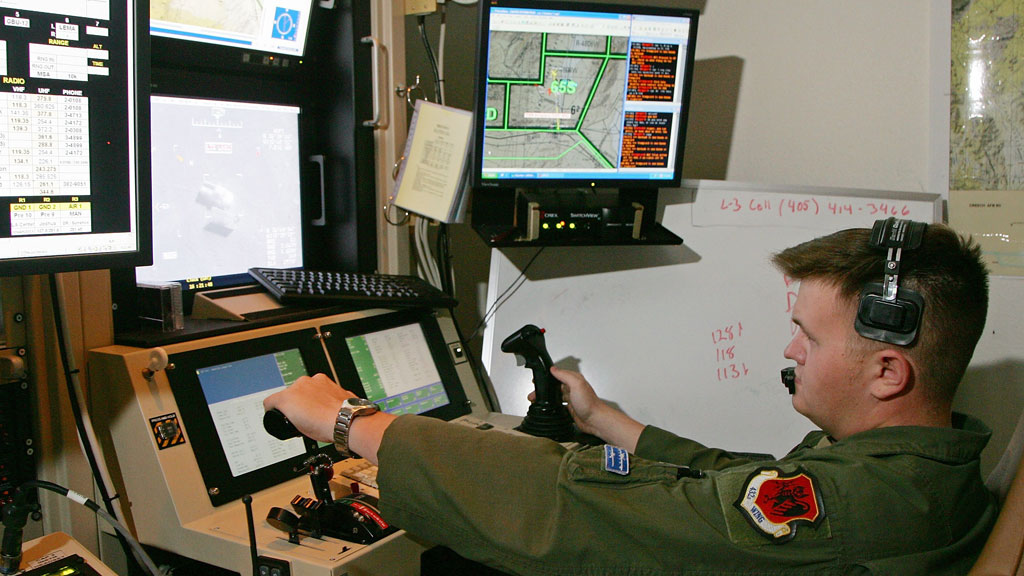 Drones are already being used to find terror targets but may do so automatically in a decade