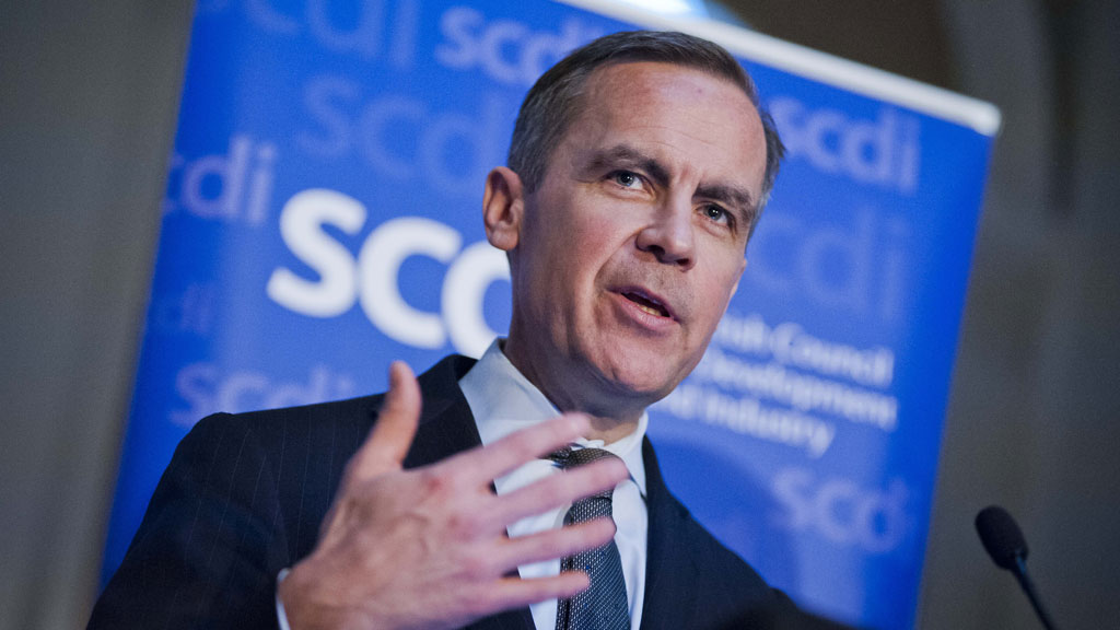 Bank of England Governor Mark Carney says an independent Scotland would have to cede some of its national sovereignty if it wants to keep the pound (Getty)