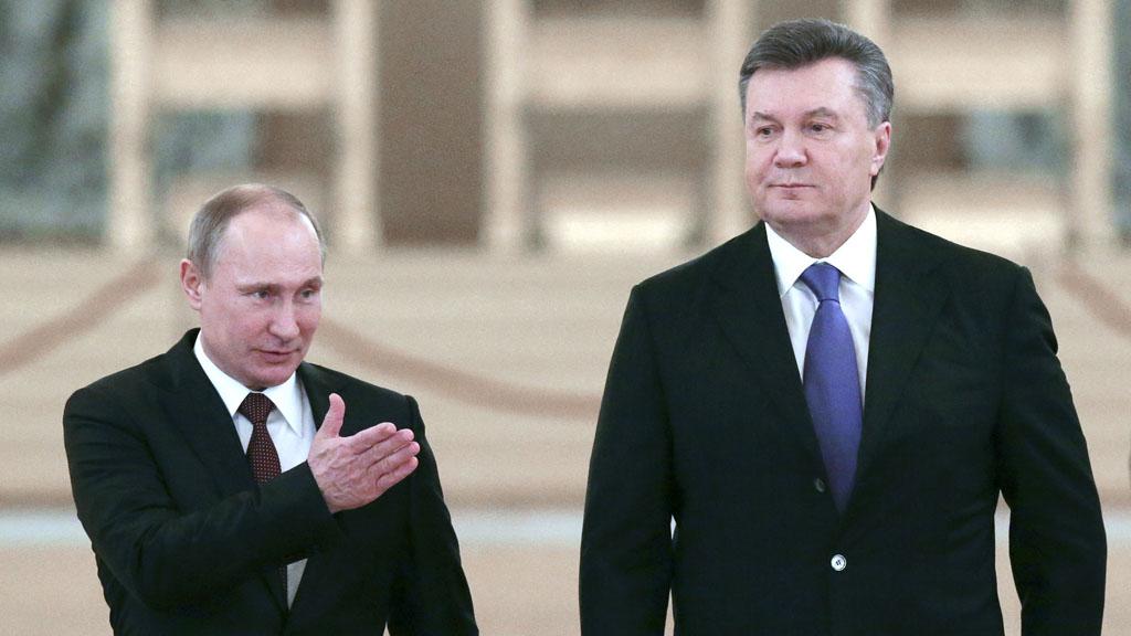 Vladimir Putin and