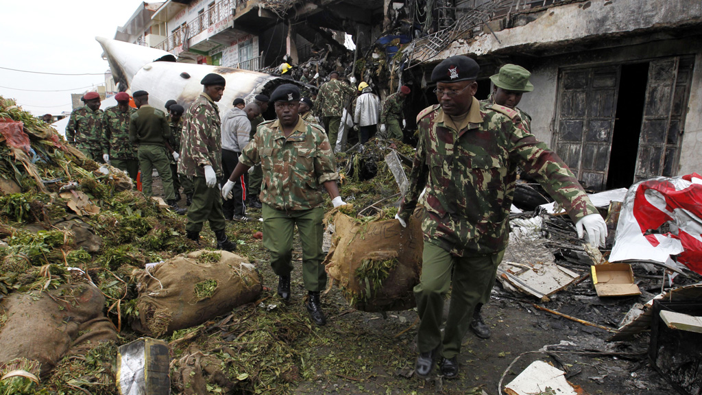 Kenya plane crash (picture: Reuters)