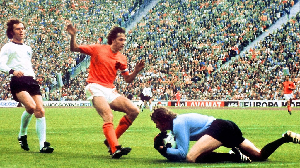 Holland v Germany in the World Cup final 1974 (Getty)
