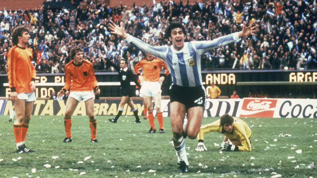 Argentina v Holland, World Cup final 1978 (Getty)