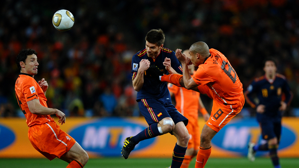 Spain v Holland, 2010 World Cup final (Getty)