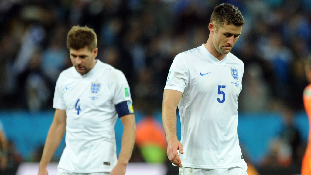 World Cup 2014: England fail to get out of the group stages. (Getty)