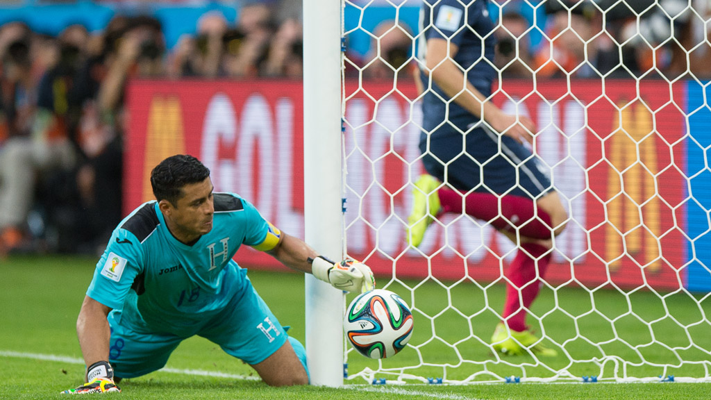 World Cup 2014: goal-line technology. (Getty)