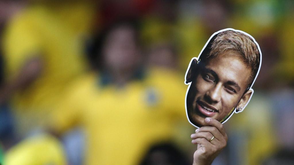 World Cup 2014: Neymar Neymar Neymar. (Reuters)