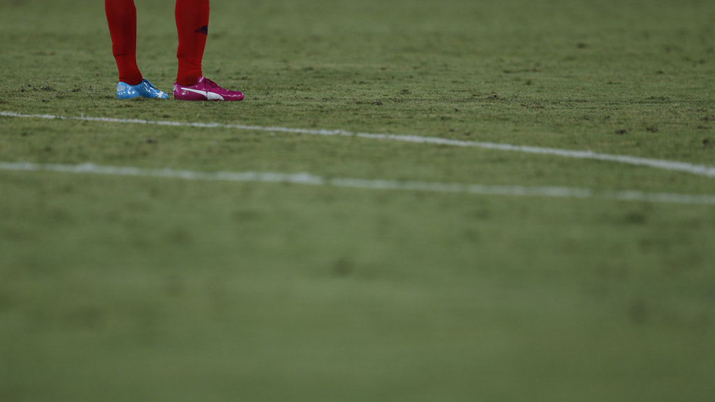 World Cup 2014: odd boots. (Reuters)