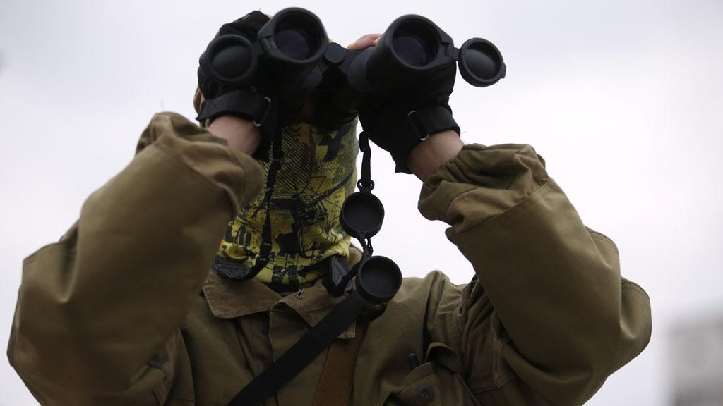 Pro-Russian separatist (Reuters)