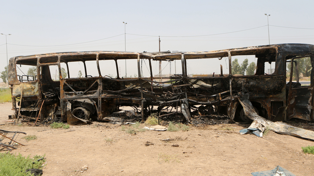 Iraq bus attacked near Baghdad