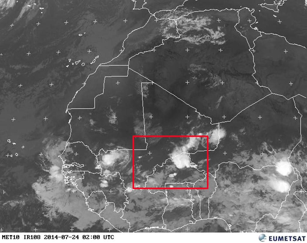 Did this storm bring down Air Algerie flight 5017? (Picture: Eumetsat)