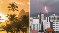 Contrasting weather in Brazil (Getty Images)