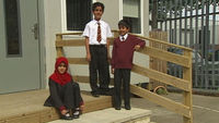 Pupils from a Birmingham school caught up in the 'Trojan Horse' row