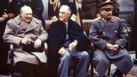 Churchill, Roosevelt and Stalin (Getty)