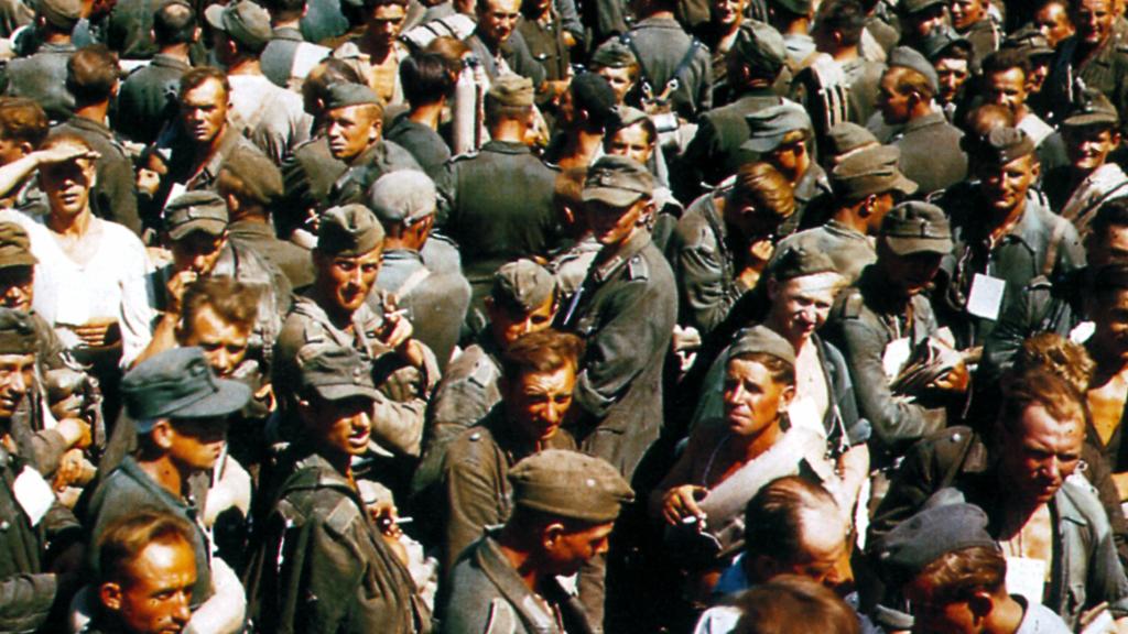 German prisoners (Getty)