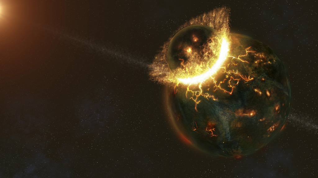 Did this planet collide with earth to form the moon? – Channel 4 News