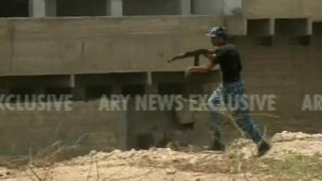 Pakistan Taliban attack on Karachi Airport Security Force Academy