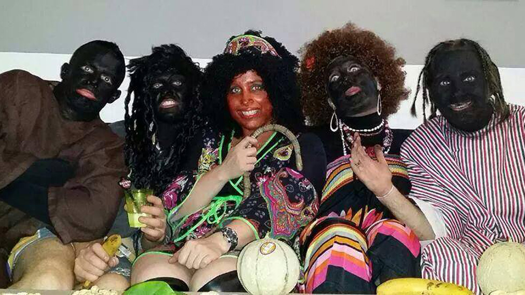 French police blackface party