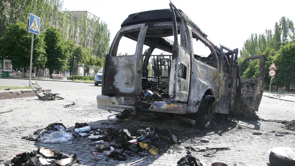 Donetsk blast